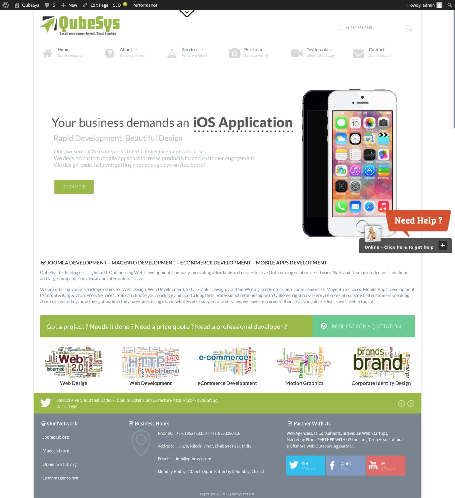 Themeforest Joomla Theme Installation and Demo Setup by QUBESYS - 48935