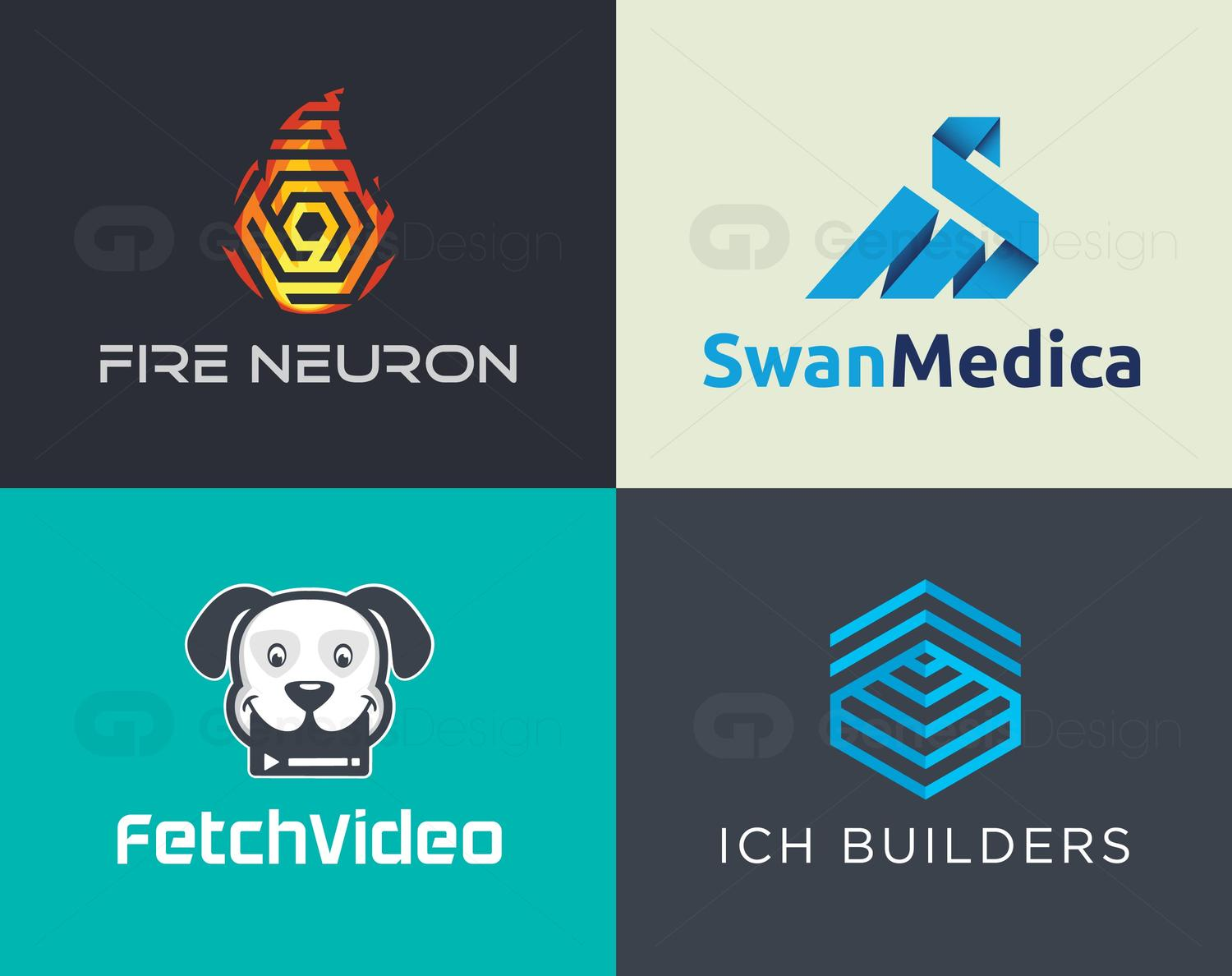 Professional and Clean Logo Design by GenesisDesign - 102096