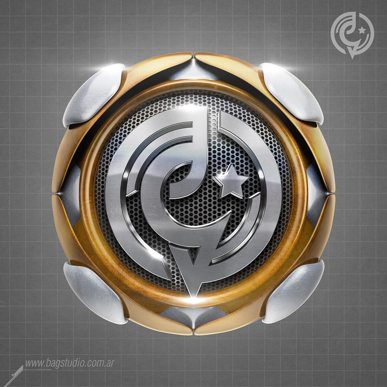 3d logo design by gabey005 on envato studio