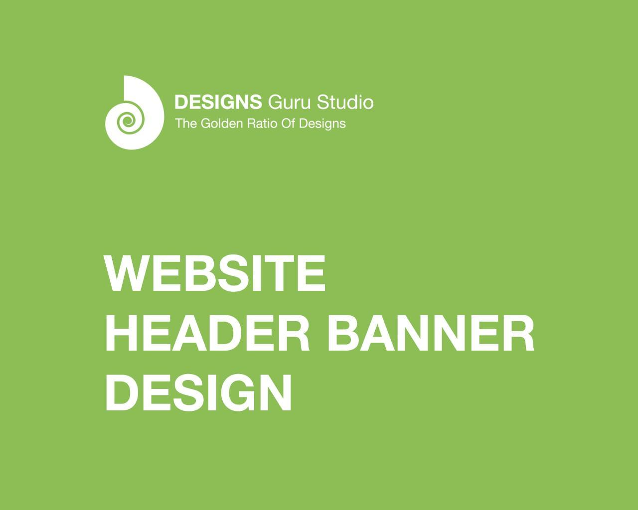 Website Header Banner Design by designsgurustudio - 117062