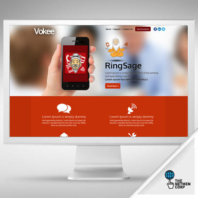 100% Custom and Original Homepage Design (PSD) by thenetmen - 18731