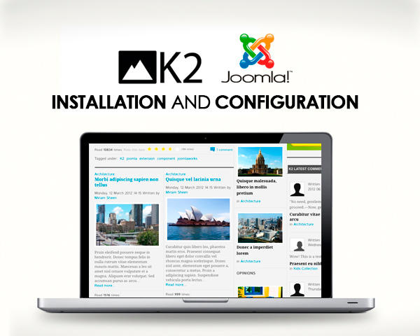 Joomla K2 Component Installation and Configuration by touringxx - 42821