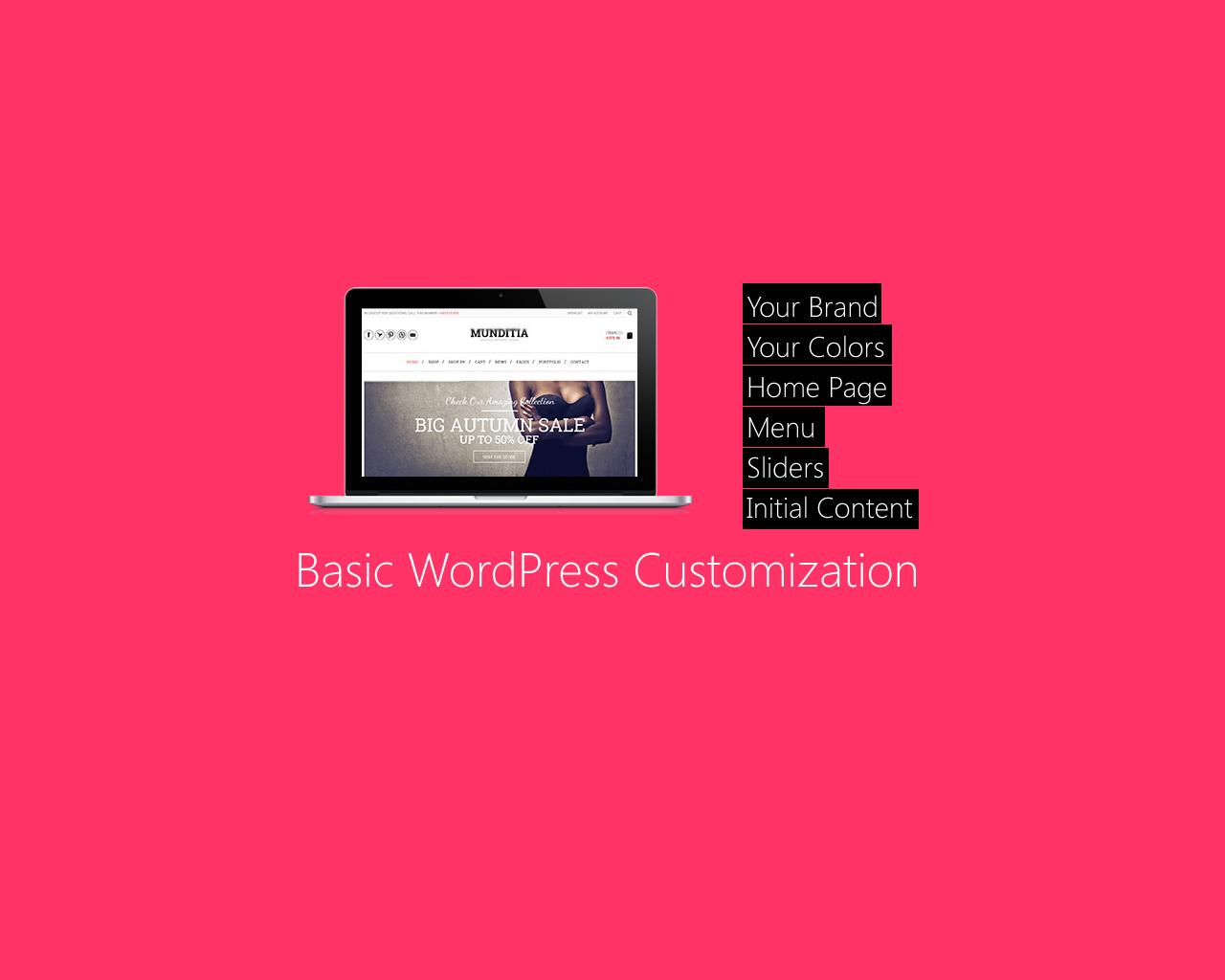 Basic WordPress Theme Customization by sympleweb - 63233