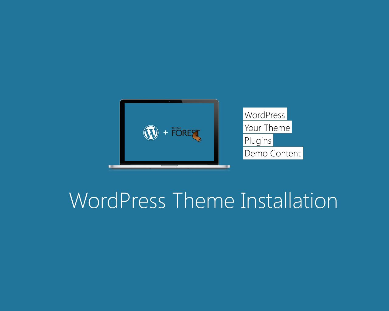 WordPress Theme Installation  by sympleweb - 63229