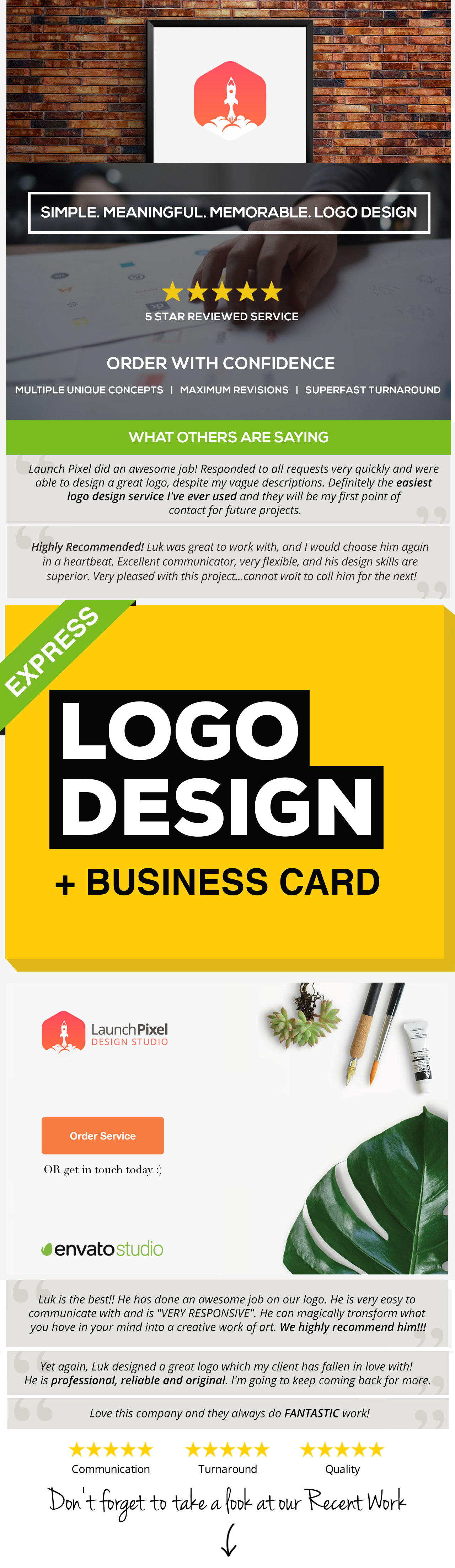 Logo Design by launchpixel - 107782