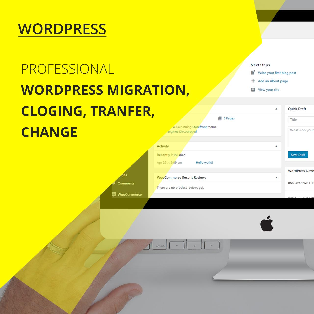 Wordpress Migration, Cloging, Tranfer by zendcrew - 107235