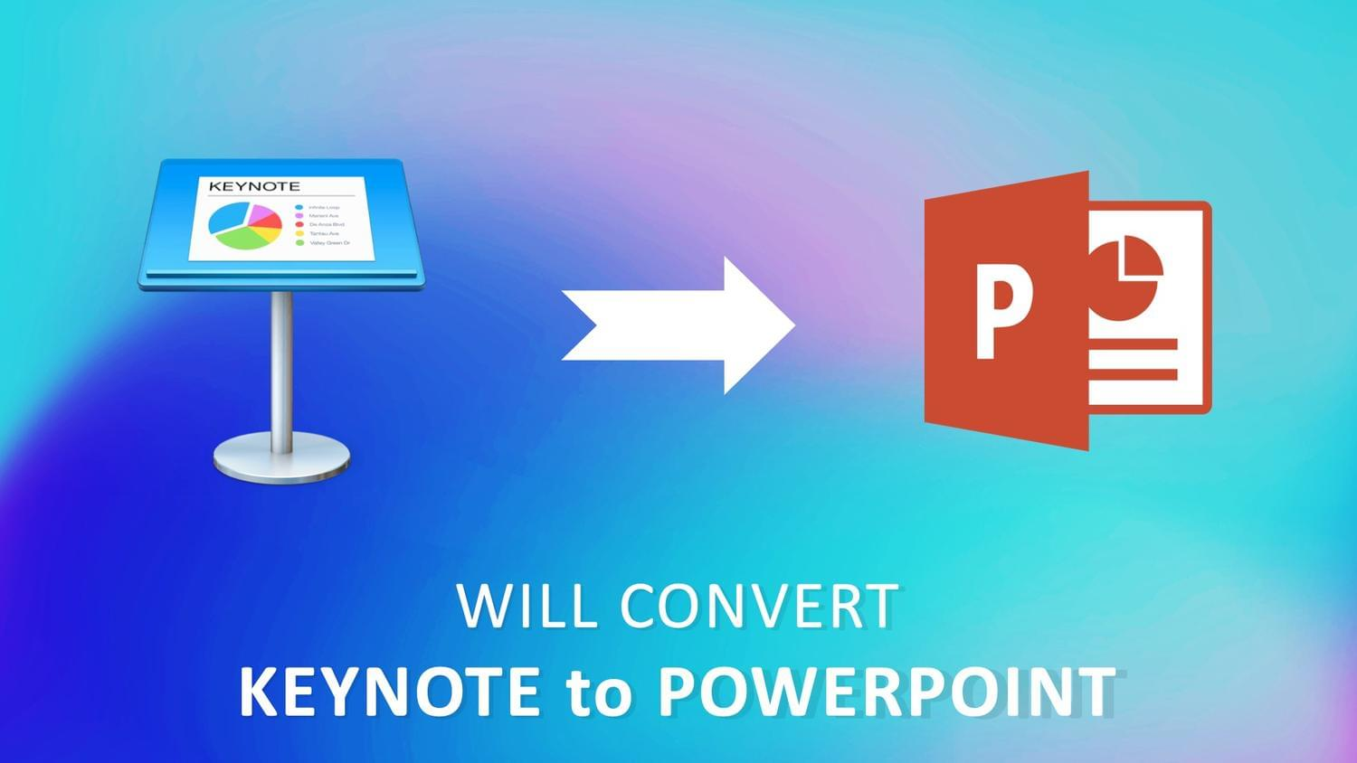 Convert Keynote to PowerPoint by arvaone - 115103