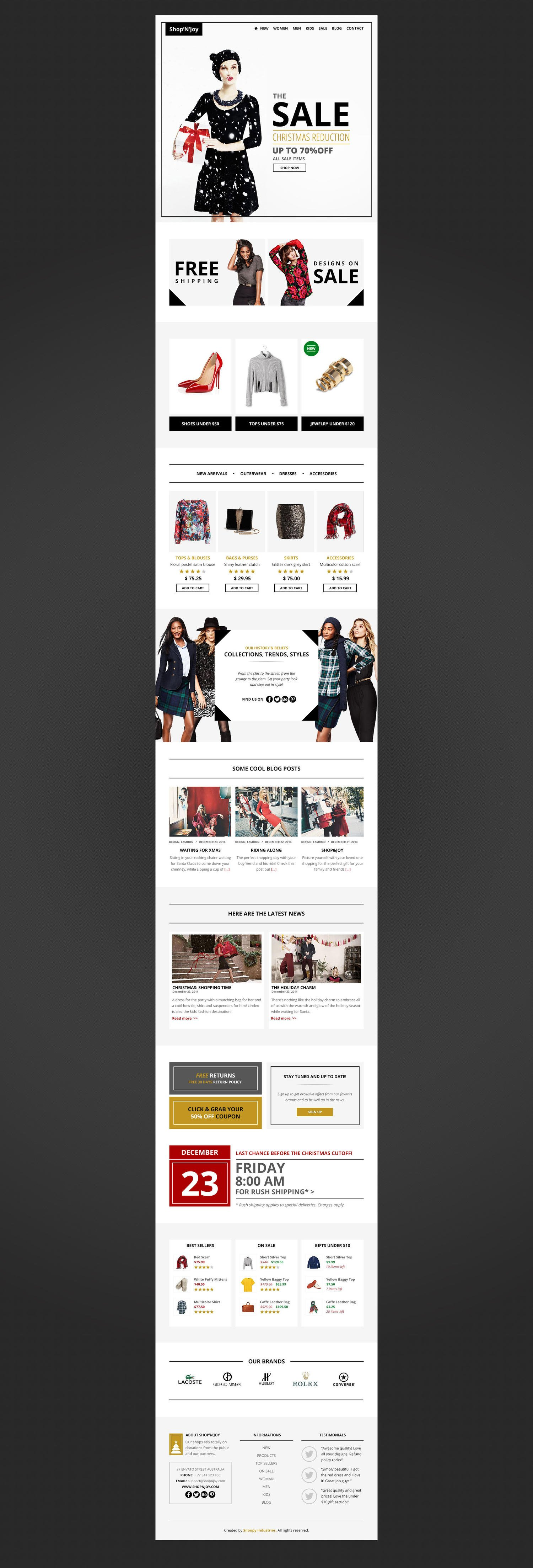 PSD to Responsive Email HTML Code by BigBangThemes - 91385