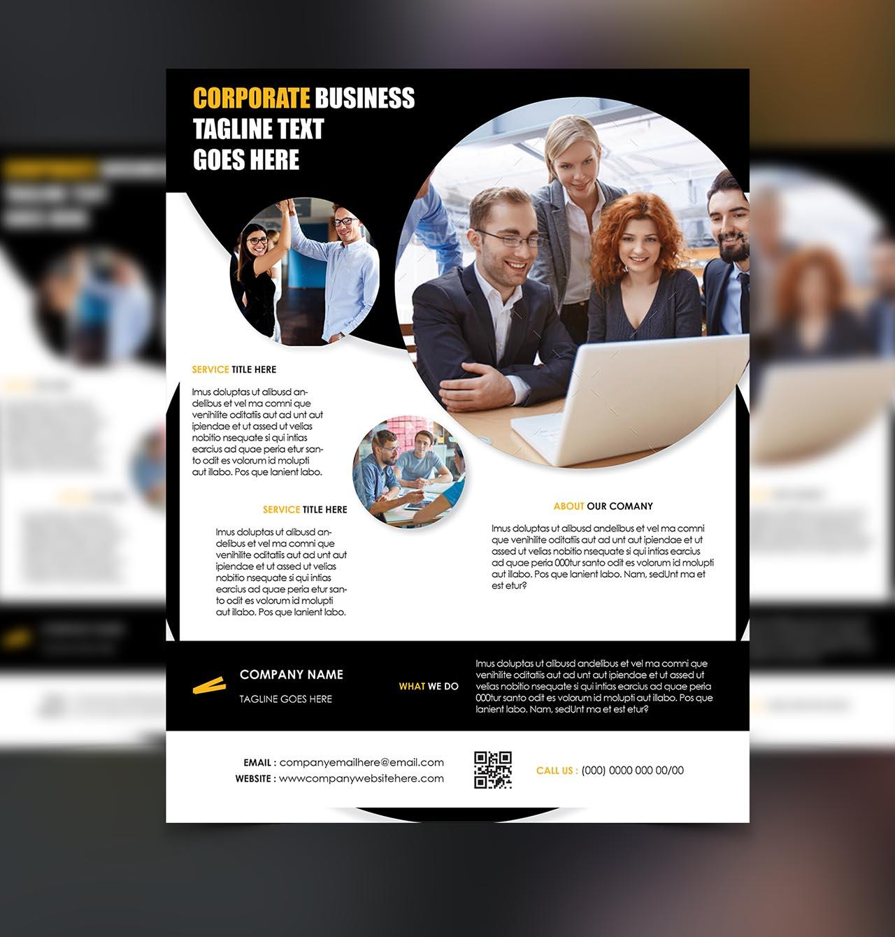 Creative Corporate Business Flyer/Poster Design  by arnabkumar - 95399