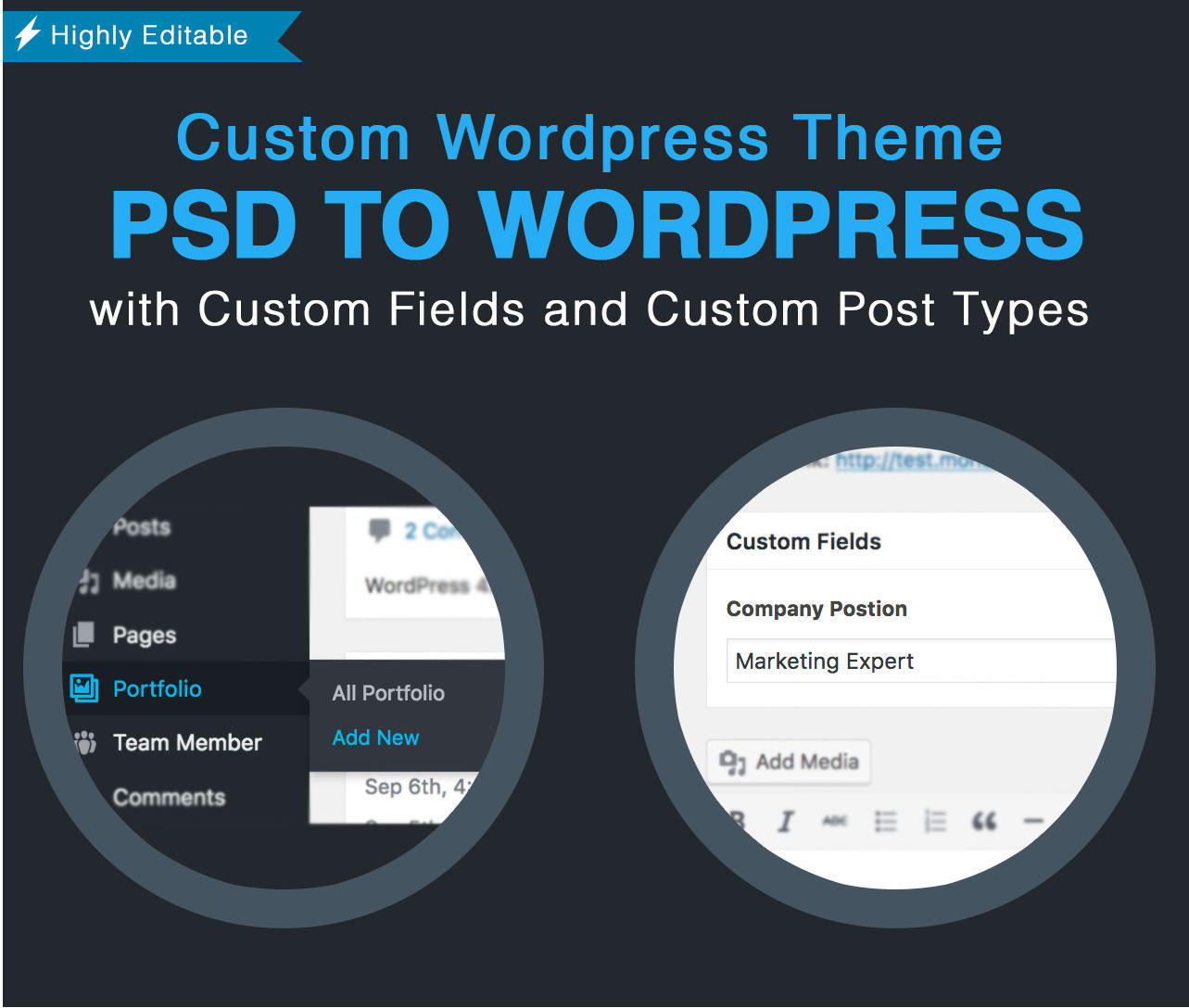 Convert PSD to Wordpress Theme by admiral_adictus - 102715