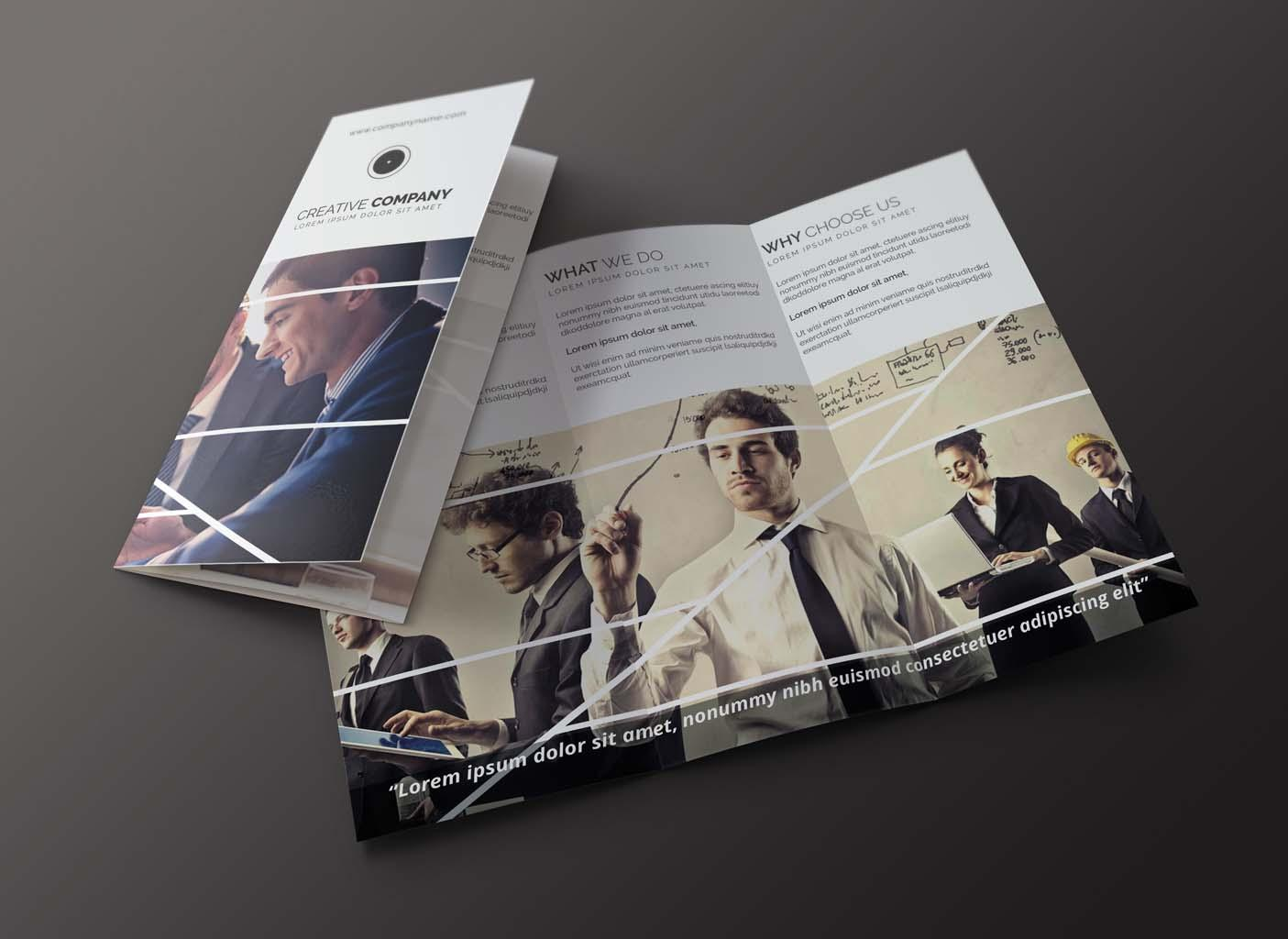 Custom Tri-fold Brochure Design by ImmySingh - 76389