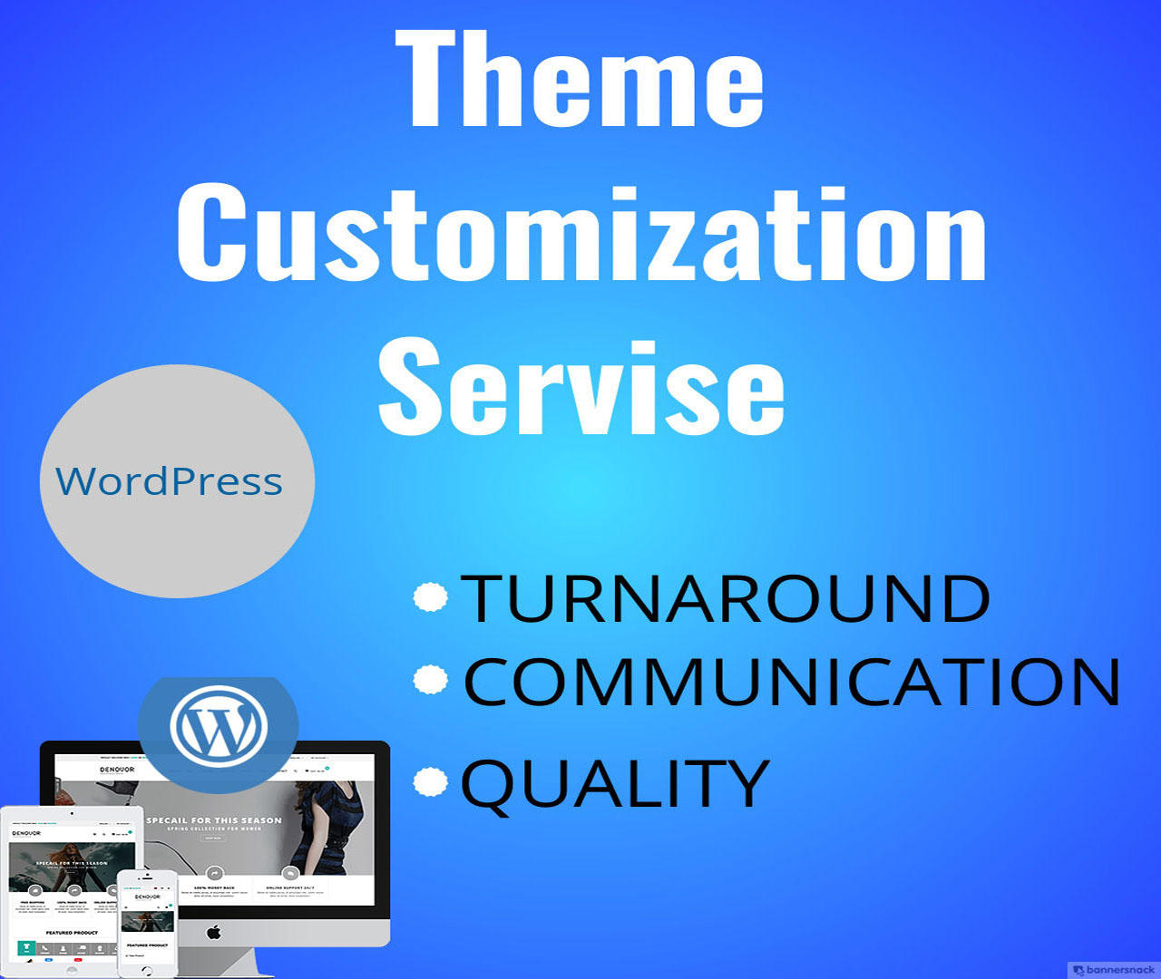 Professional WordPress Theme Installation and Customization With Modification by 3jon - 110427