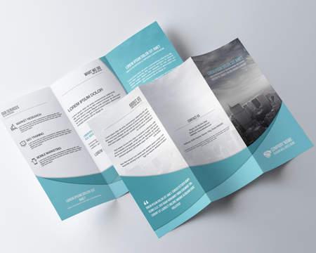 Tri-fold Brochure Design by redshinestudio on Envato Studio