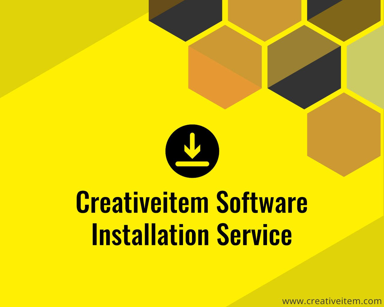 Creativeitem Software Installation Service by Creativeitem - 109319