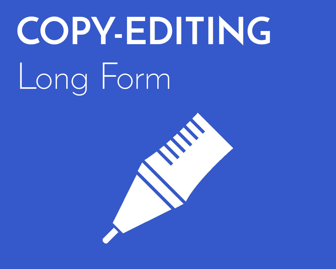Professional Copy-Editing (Long Form) by emilyshore - 73465