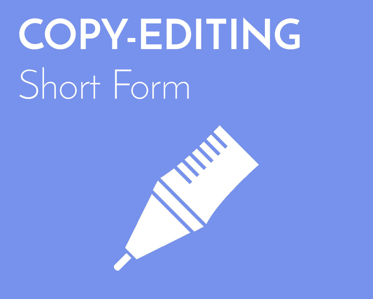 Professional Copy-Editing (Short Form) by emilyshore - 73462