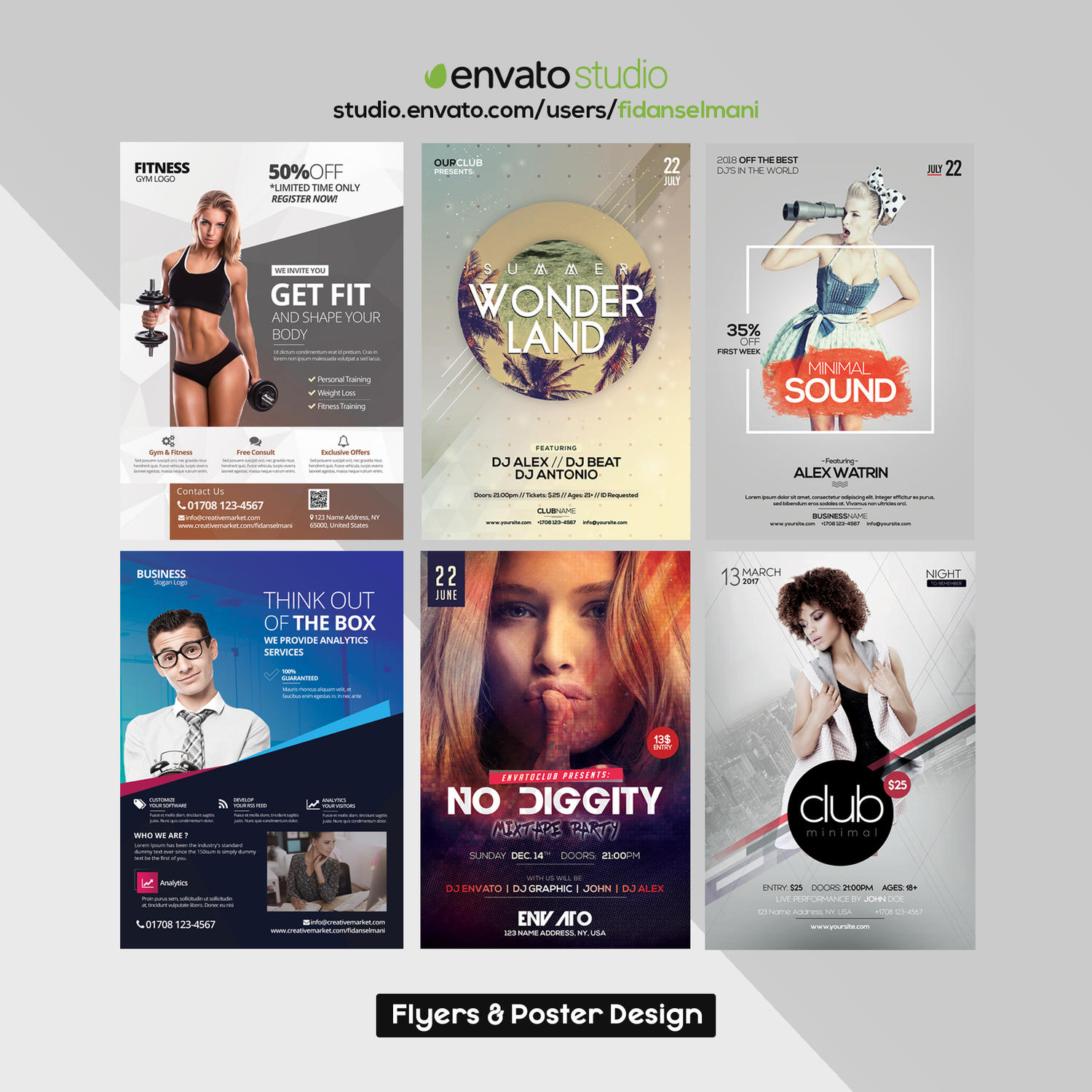 Creative Flyer for Business or Events by fidanselmani - 108513