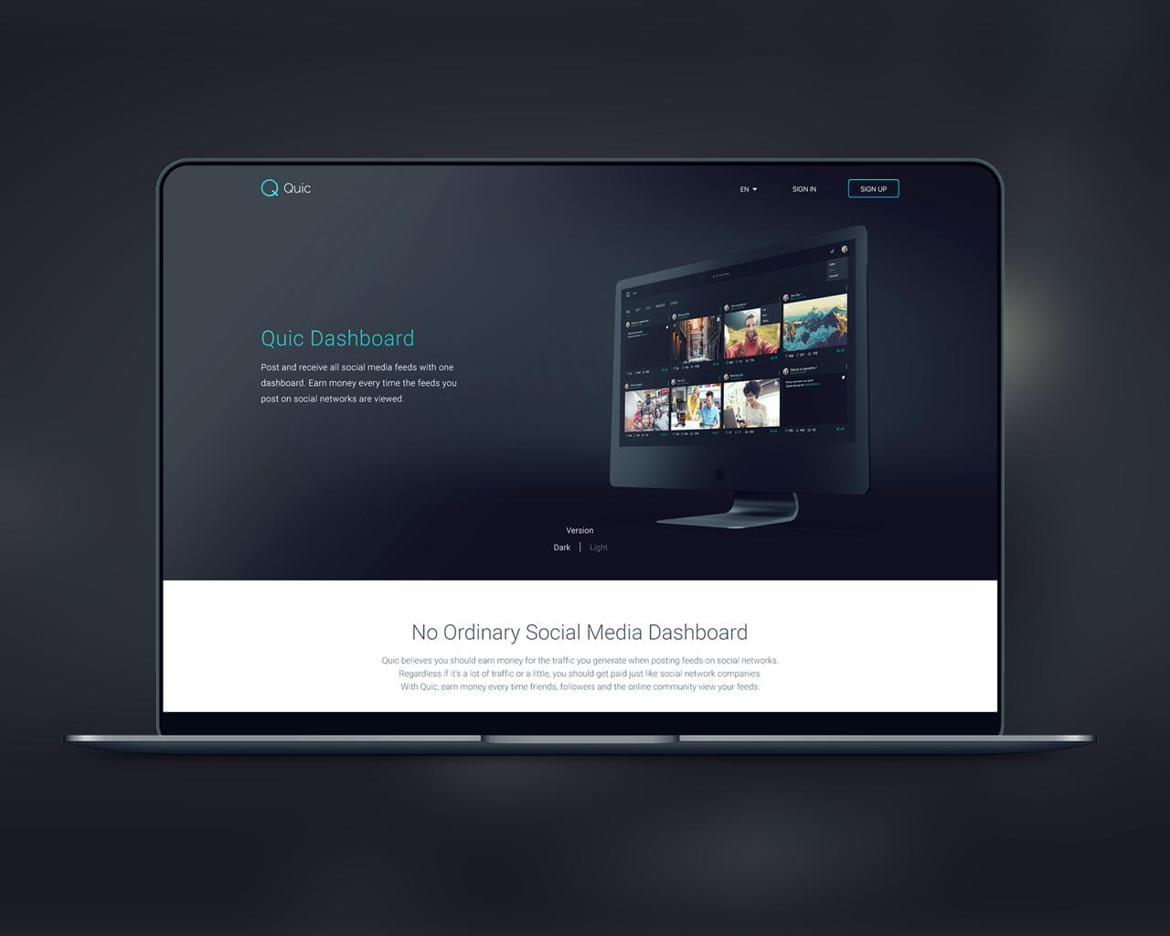 Professional and Creative Web Design PSD by ufsdesign - 112196