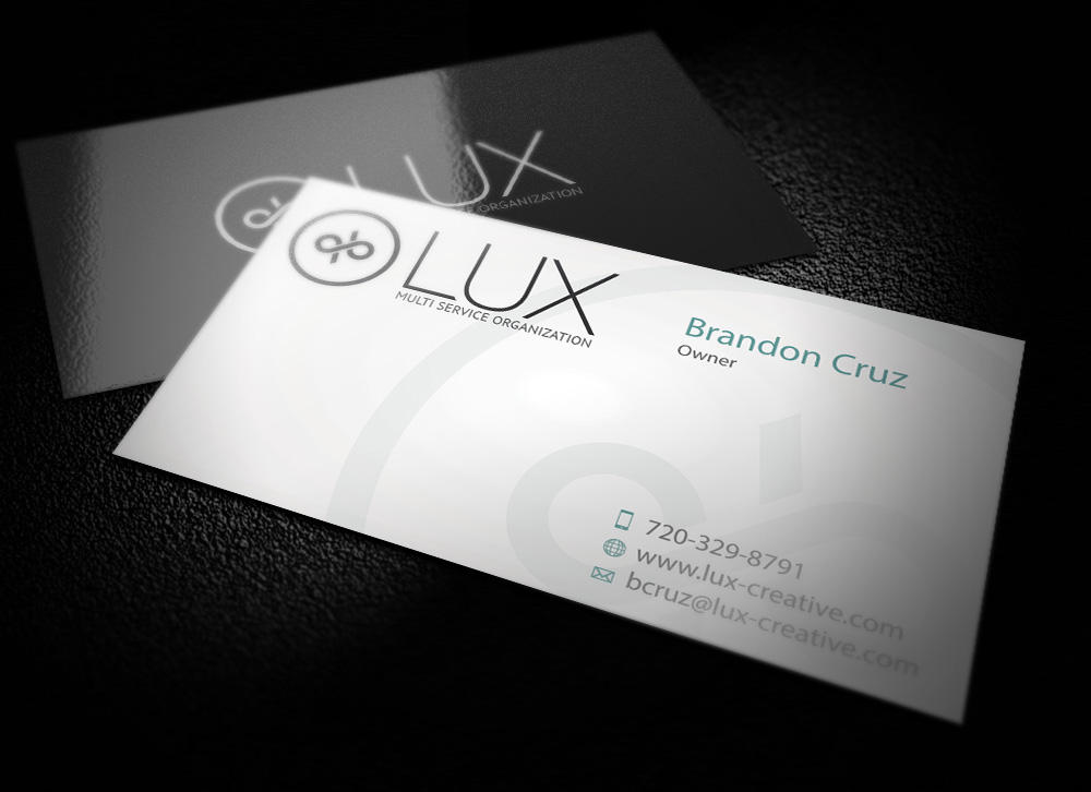 HQ Business Card Design by WhiteX on Envato Studio