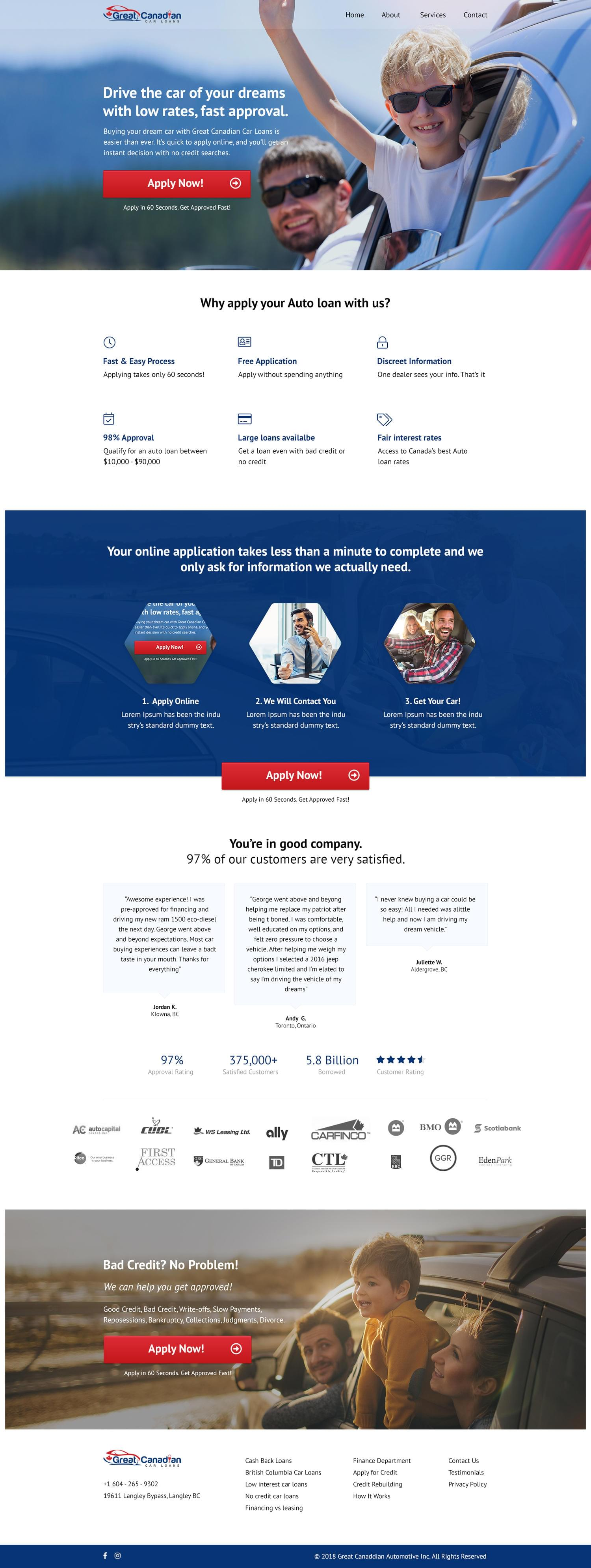 High Conversion Landing Page or Lead Page Design by SixThousand_Studio - 111121