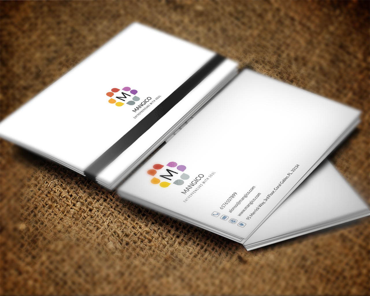 Business Card Design by shujaktk - 107648