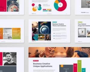 modern powerpoint presentation design by carlos fernando on envato