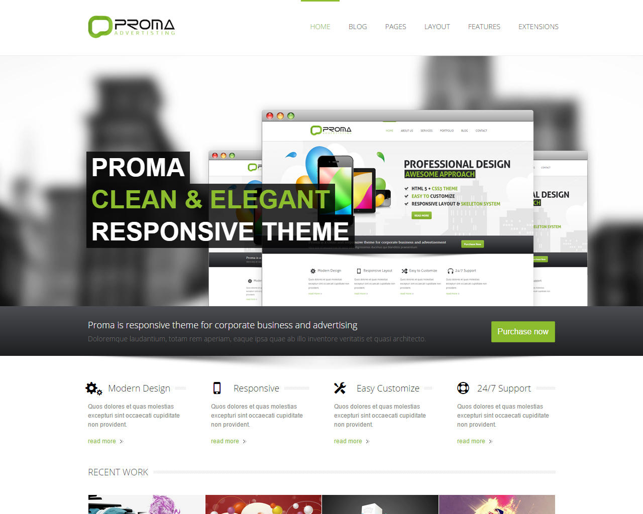 PSD to Joomla using Gantry Framework by Webthemer - 68927