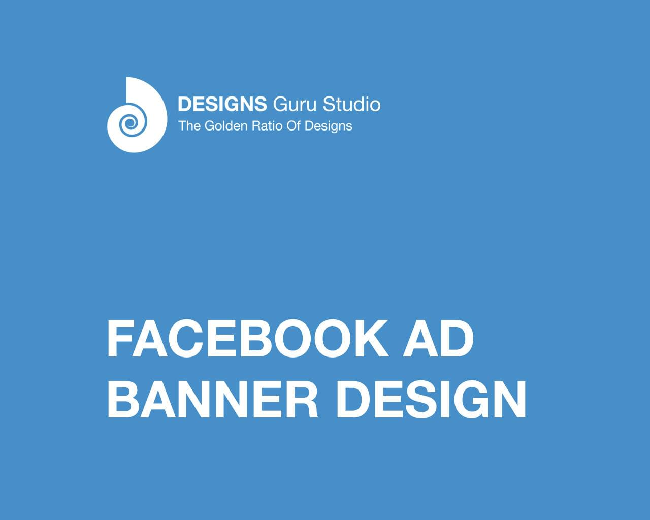 Facebook Ad Banner Design by designsgurustudio - 111487
