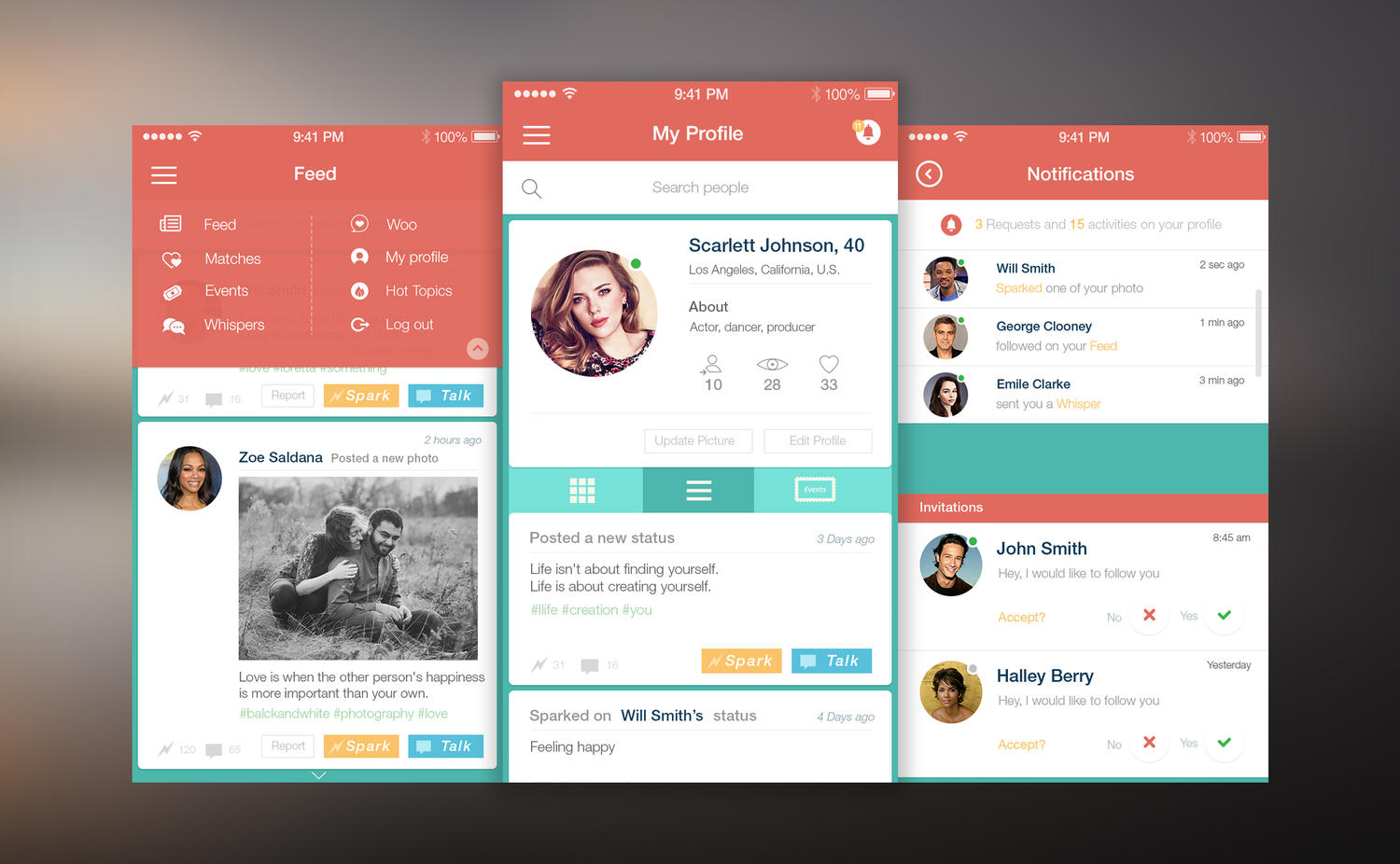 Mobile app ui ux design for ios and android by for How do i design an app