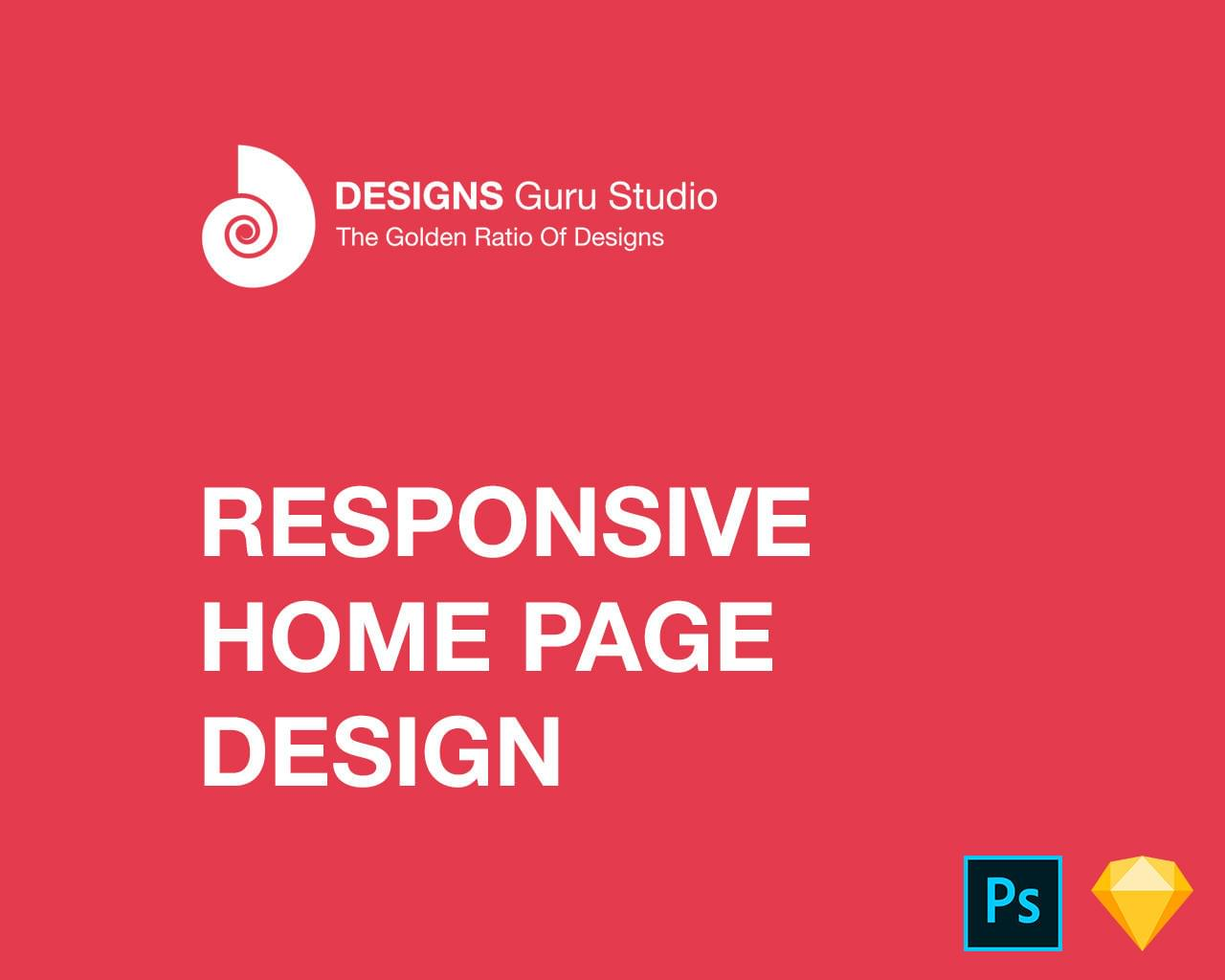 Responsive Home Page Design  by designsgurustudio - 111502