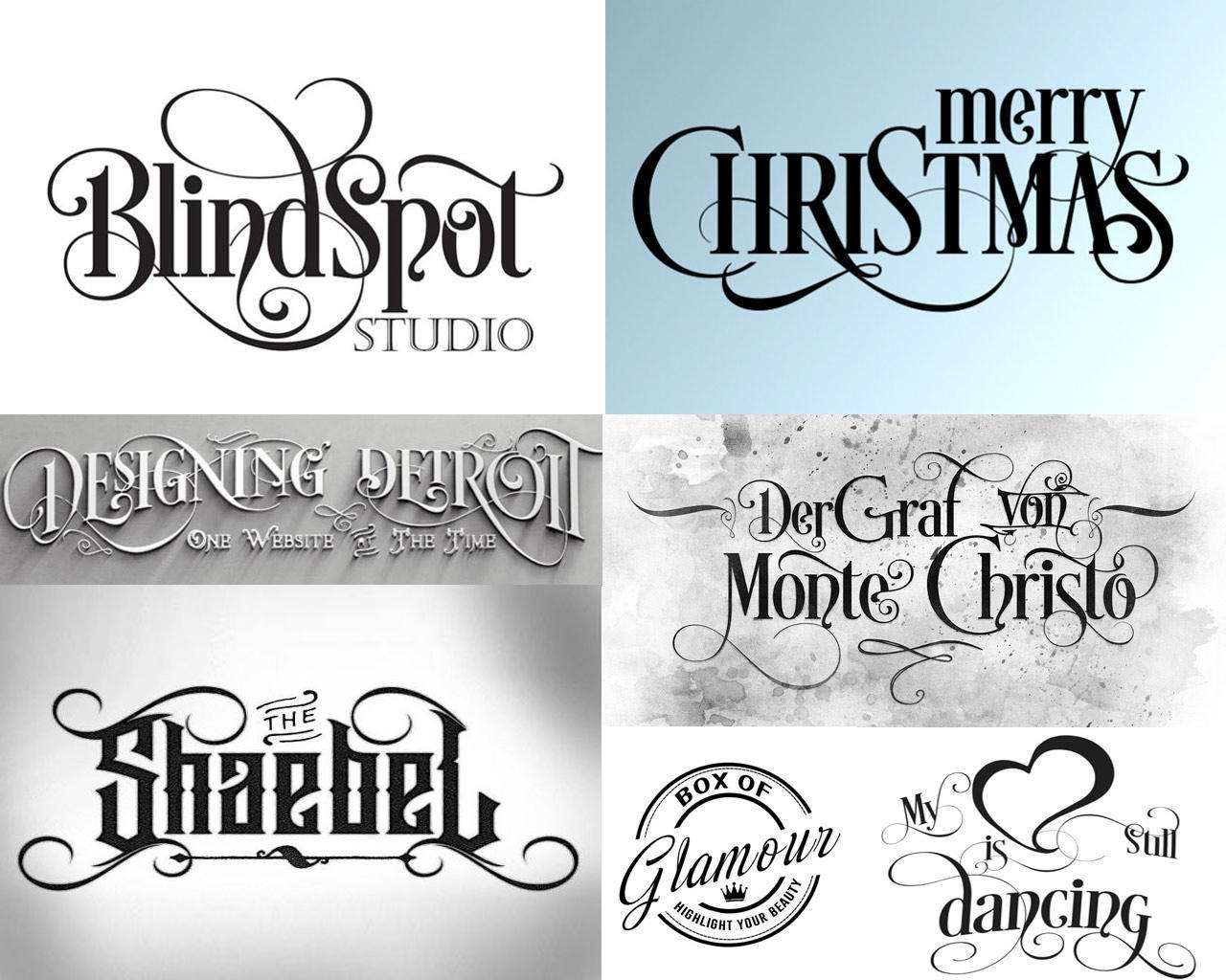 Customized Calligraphy / Typography Design With Graphic Elements by scarab13 - 110319