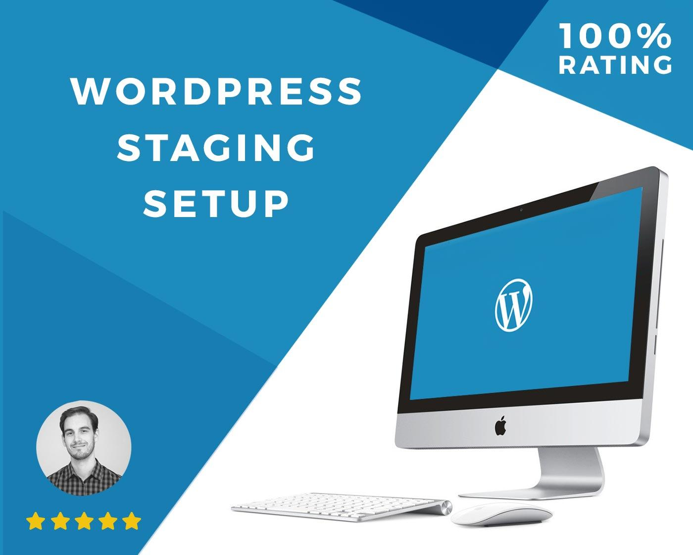 WordPress Staging Site Setup - Develop your new website while alongside your old by Ryan_Carter - 86120