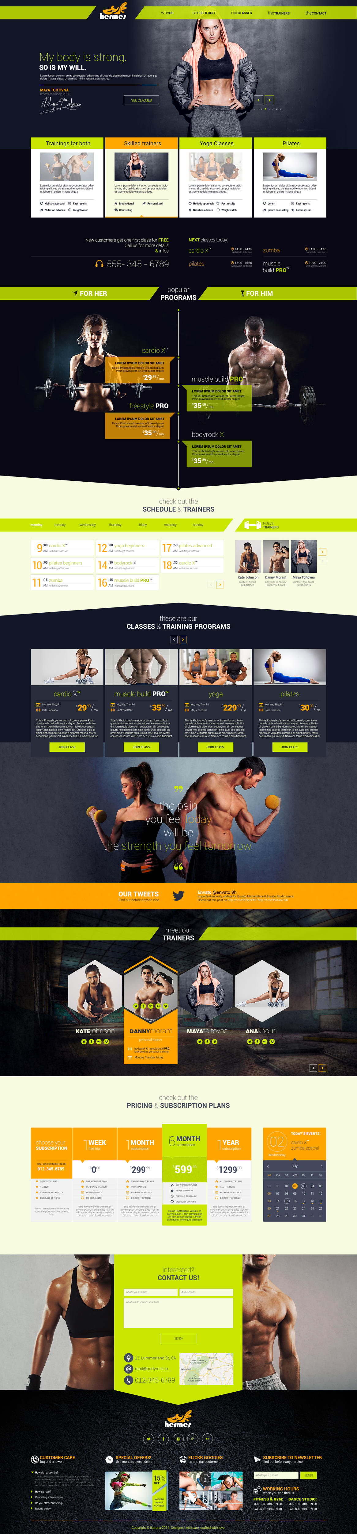 High-Quality and Creative Onepage Design by ikaruna_design - 55666