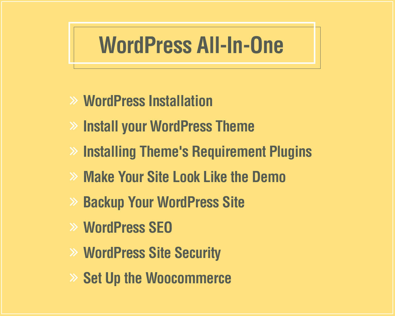 WordPress All-In-One (WordPress / Themes / Plugins / Demo / Woocommerce / SEO / Security) by fruitfulcode - 100998