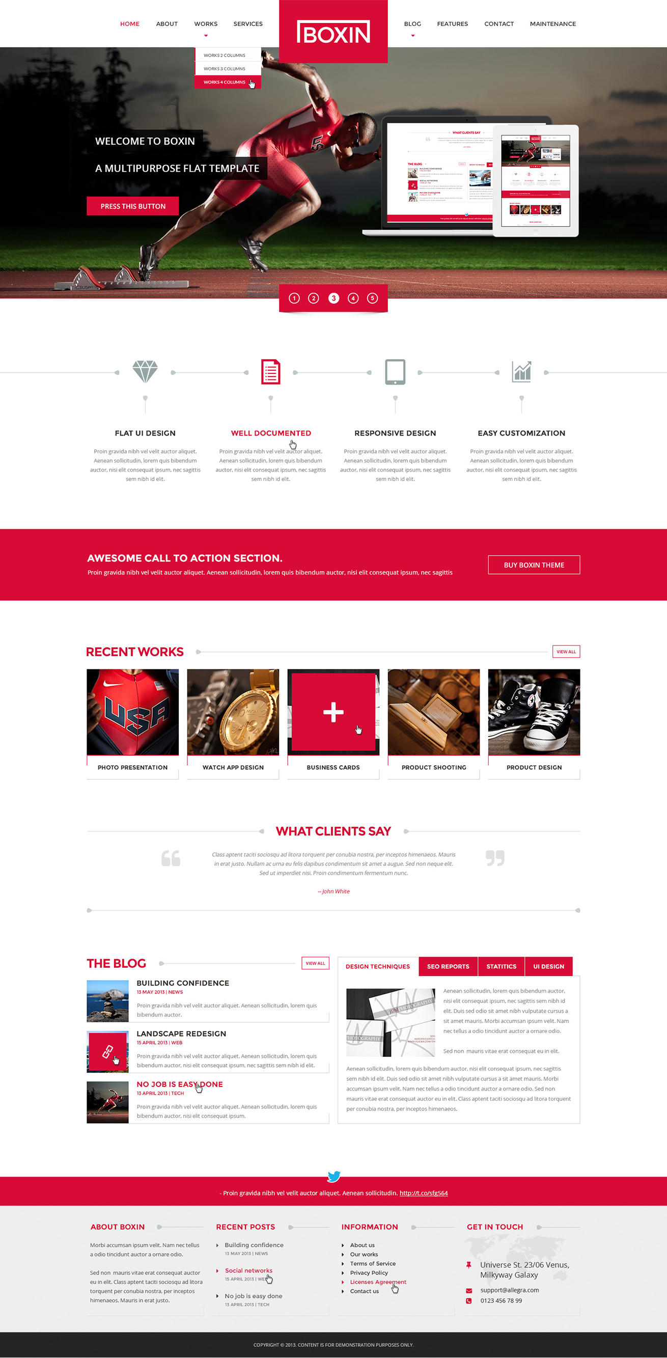 home web design. Premium Home Page Web Design  Redesign by AndiG on Envato Studio