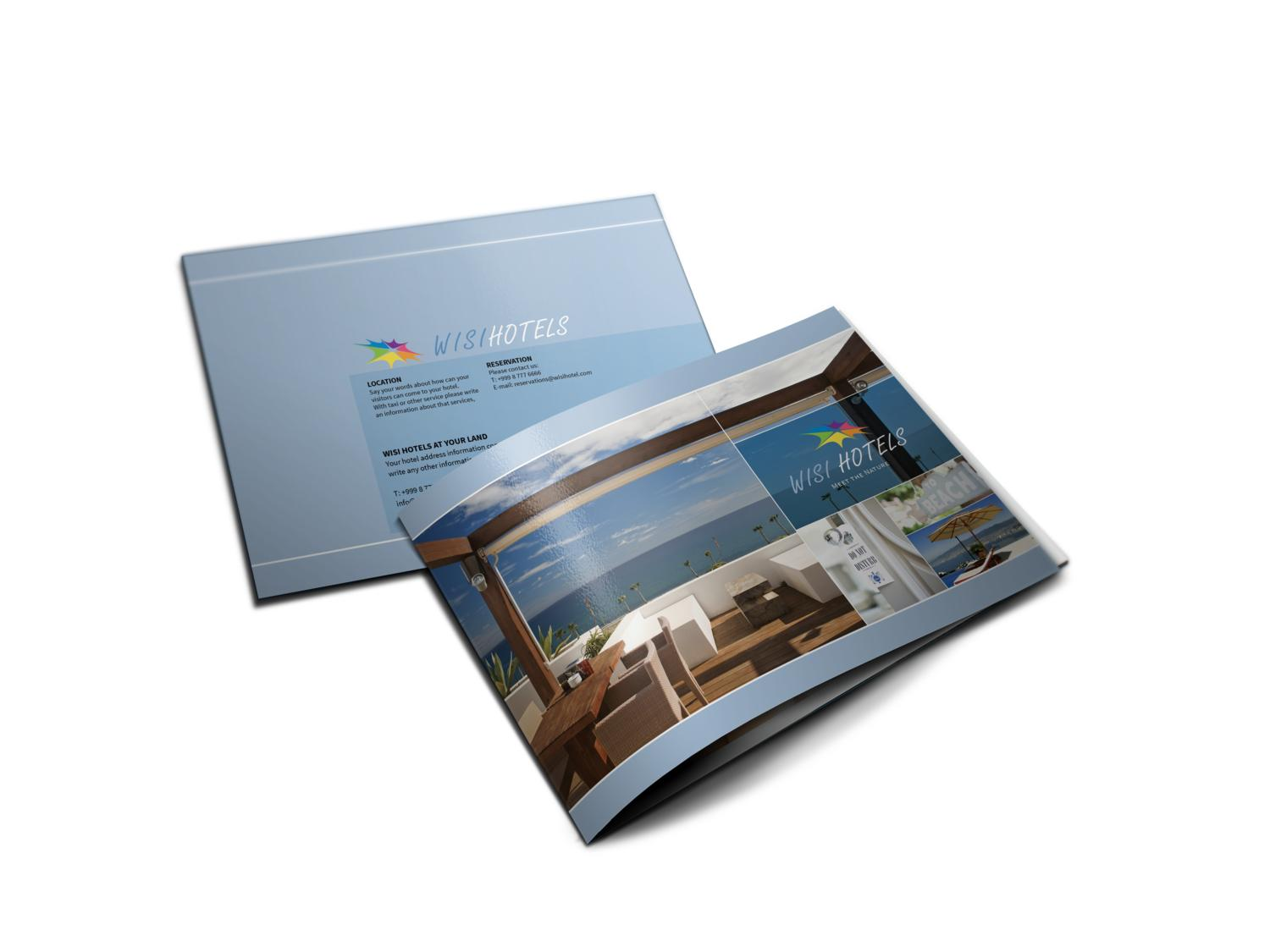 Premium A5 Brochure Design - 8 Pages by balkay - 12463