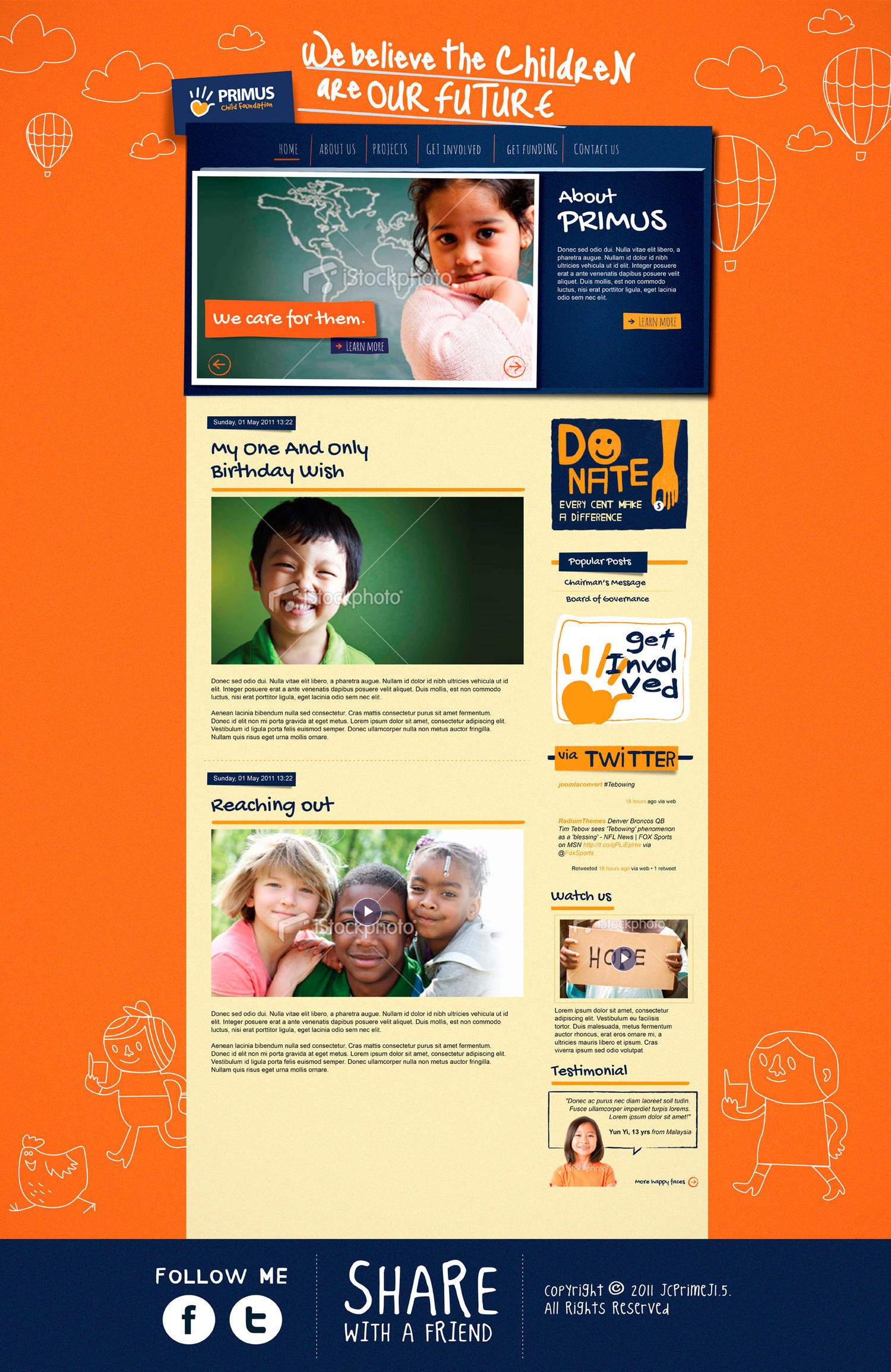 Custom One Page or Homepage Design by alexilalas - 21540