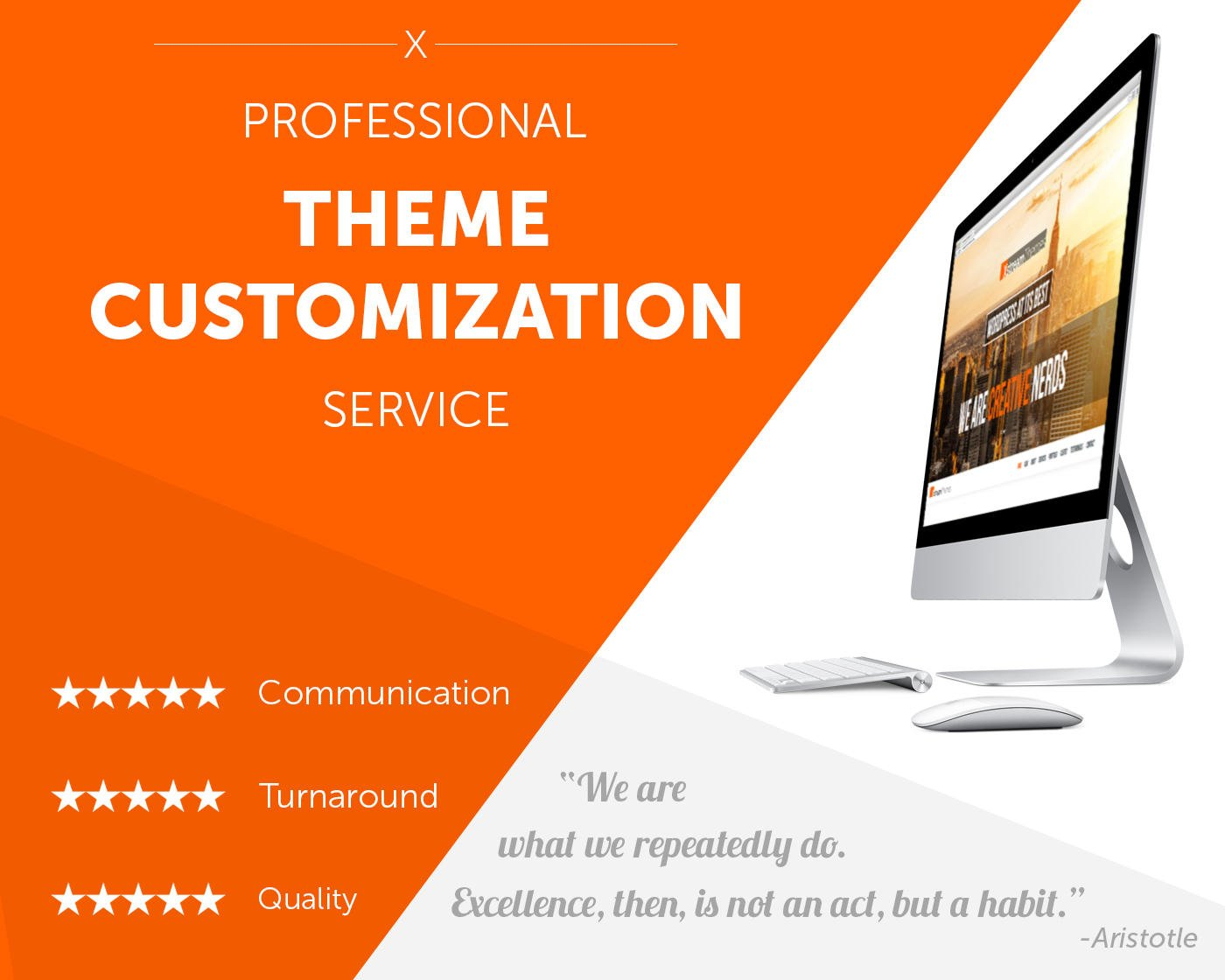 Professional WordPress Theme Customization and Modification by xstreamthemes - 63237