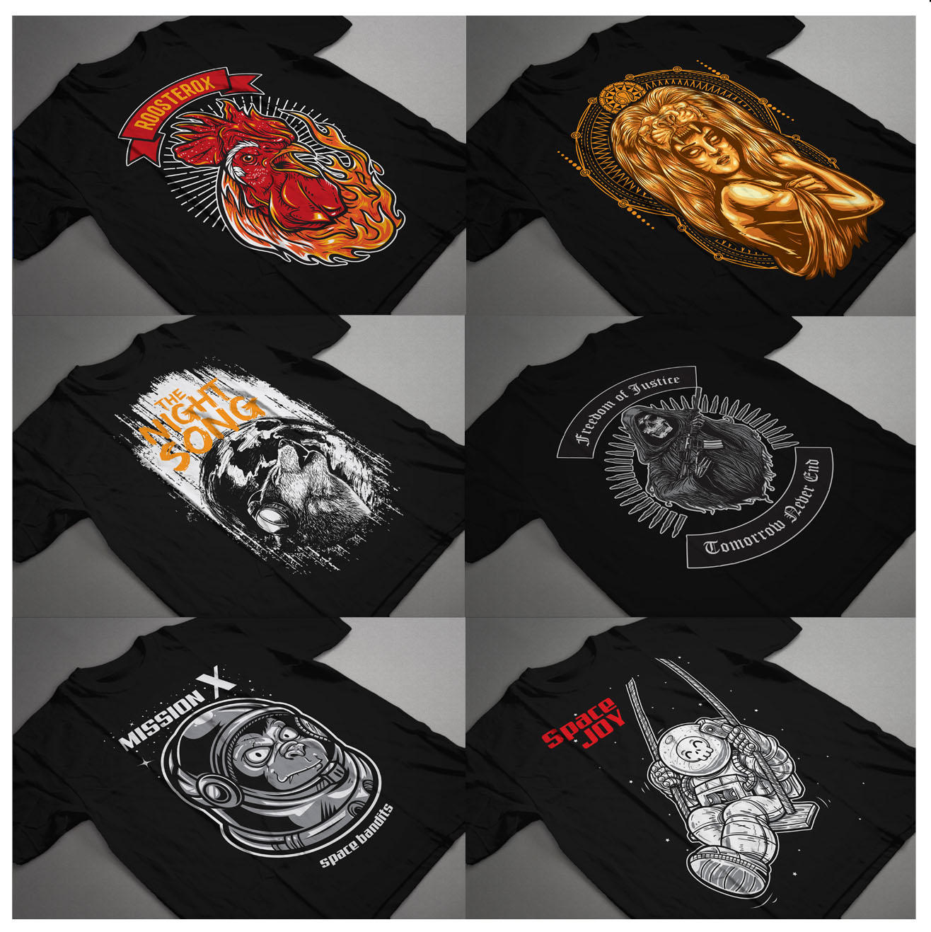 Bold Graphic T-shirt & Apparel Design  by r4pro - 103653
