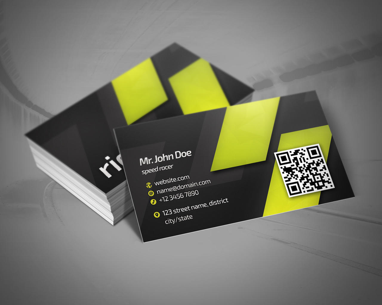 Corporate Business Card by RafaelOliveira - 70489