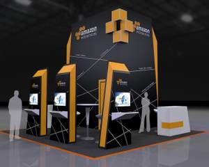 Exhibition Booth Obj : Exhibition booth 3d design by abellangbid on envato studio