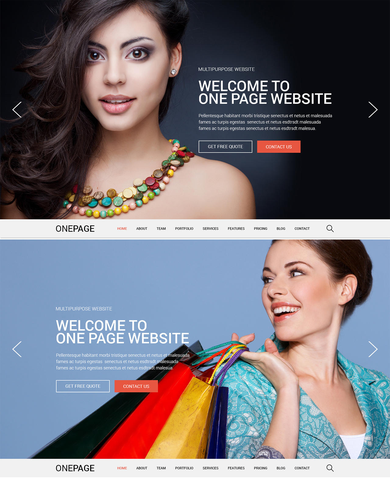 PSD to Responsive HTML by AliA - 65575