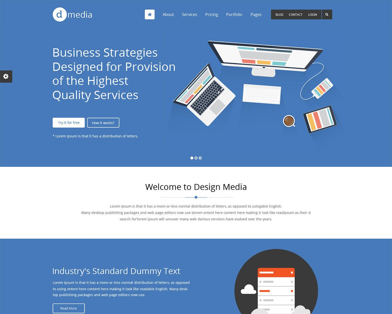Website to Wordpress Conversion Pixel Perfect by designingmedia - 102745