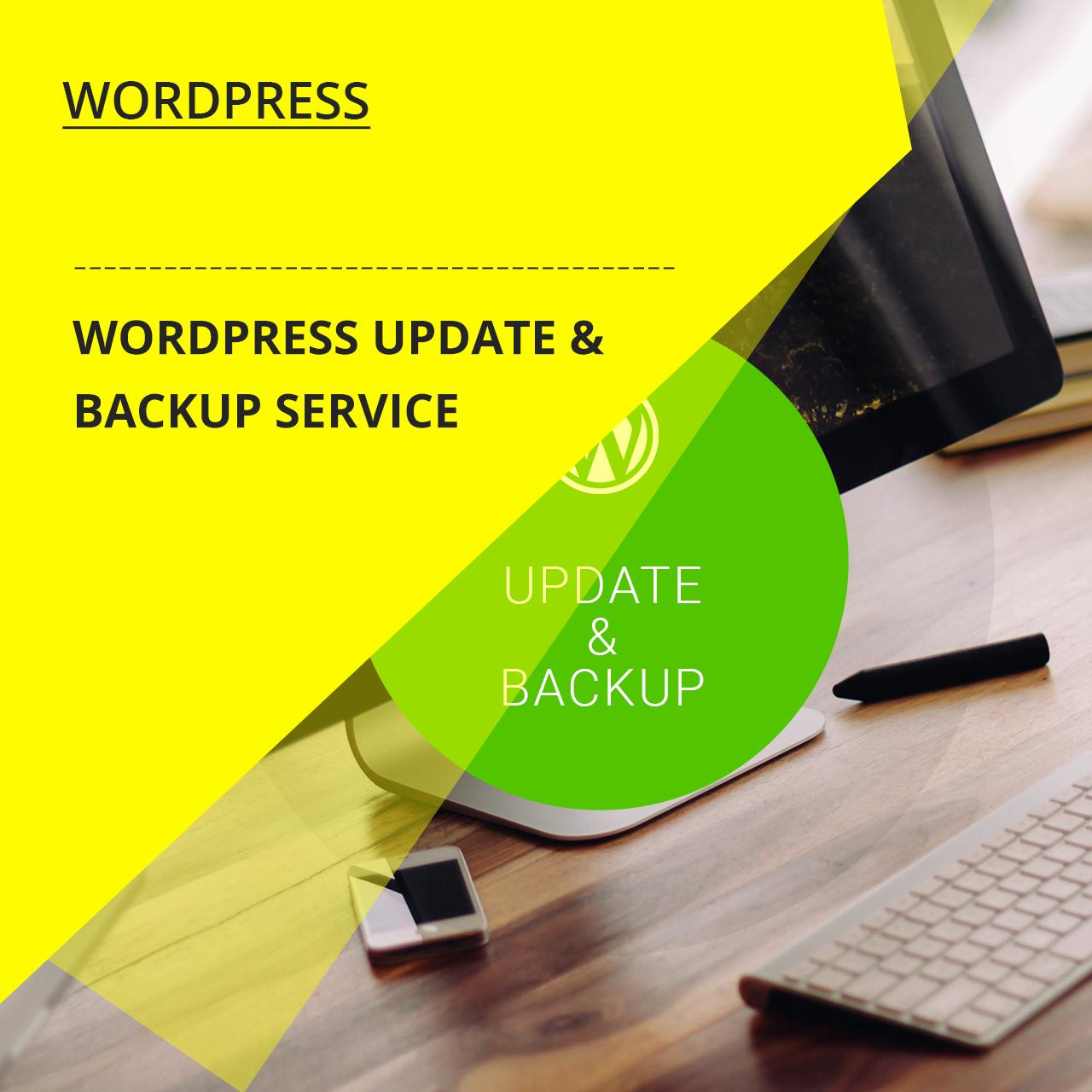Wordpress Update & Backup Service by zendcrew - 109421