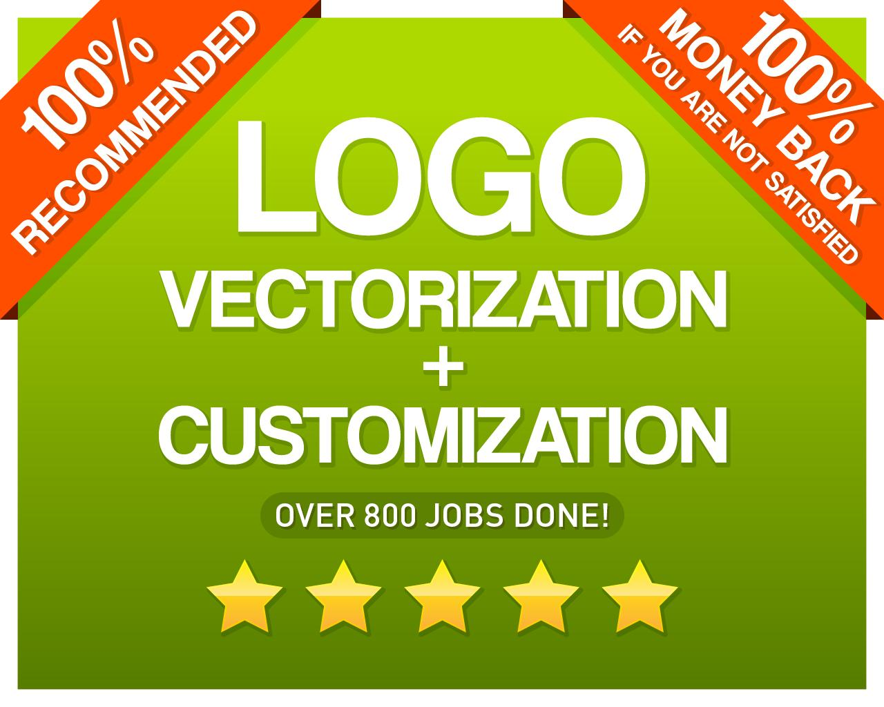 Logo Vectorization + Customization by CvLd_Design - 111015