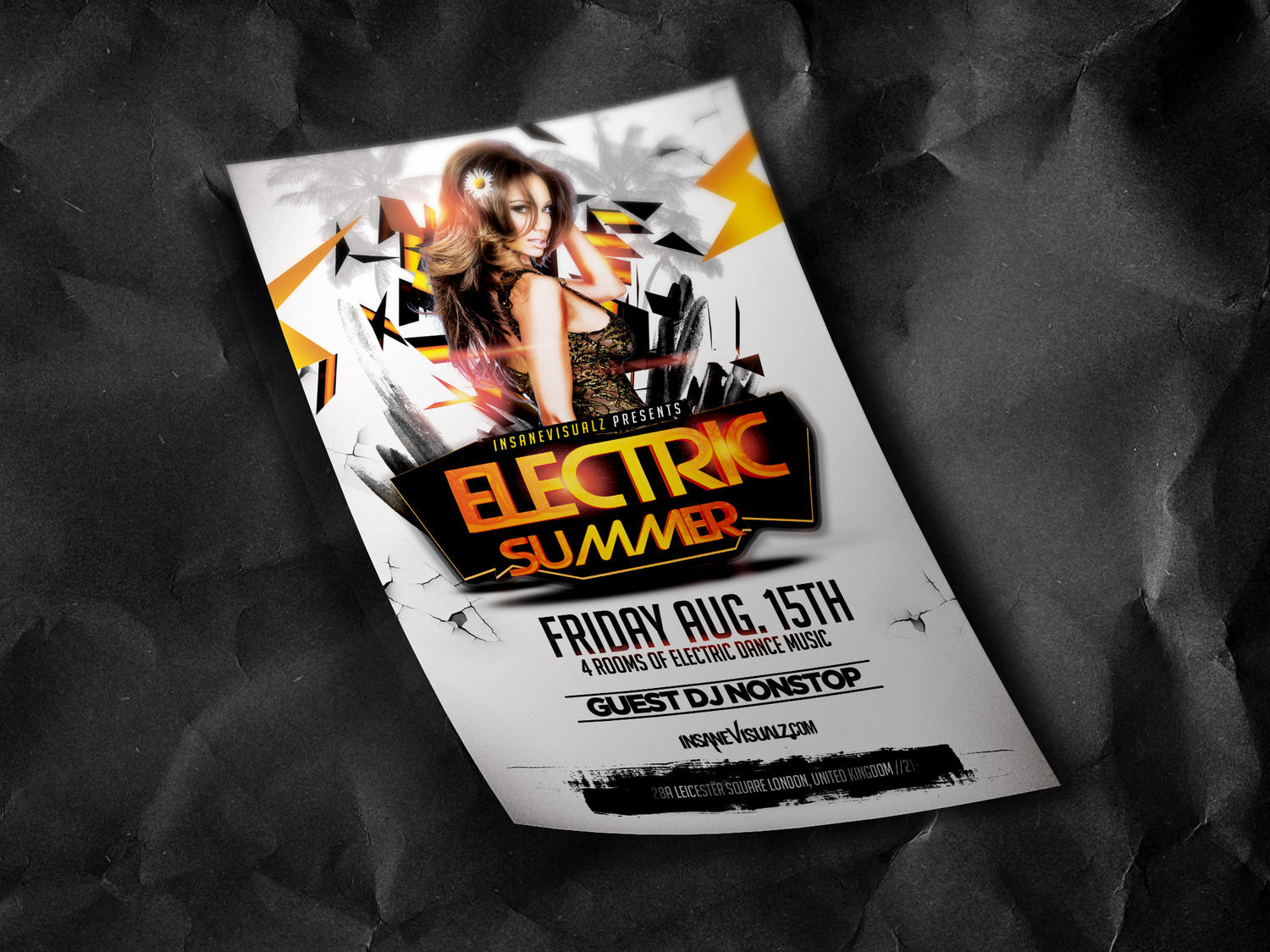 Club/Party Flyer Design by DopeDownloads - 57117