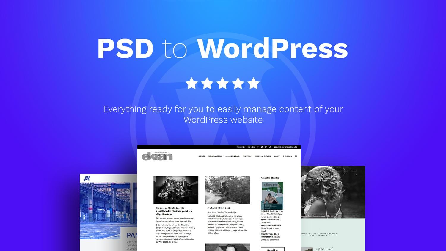 PSD to WordPress Website by OliverMarcetic - 111929