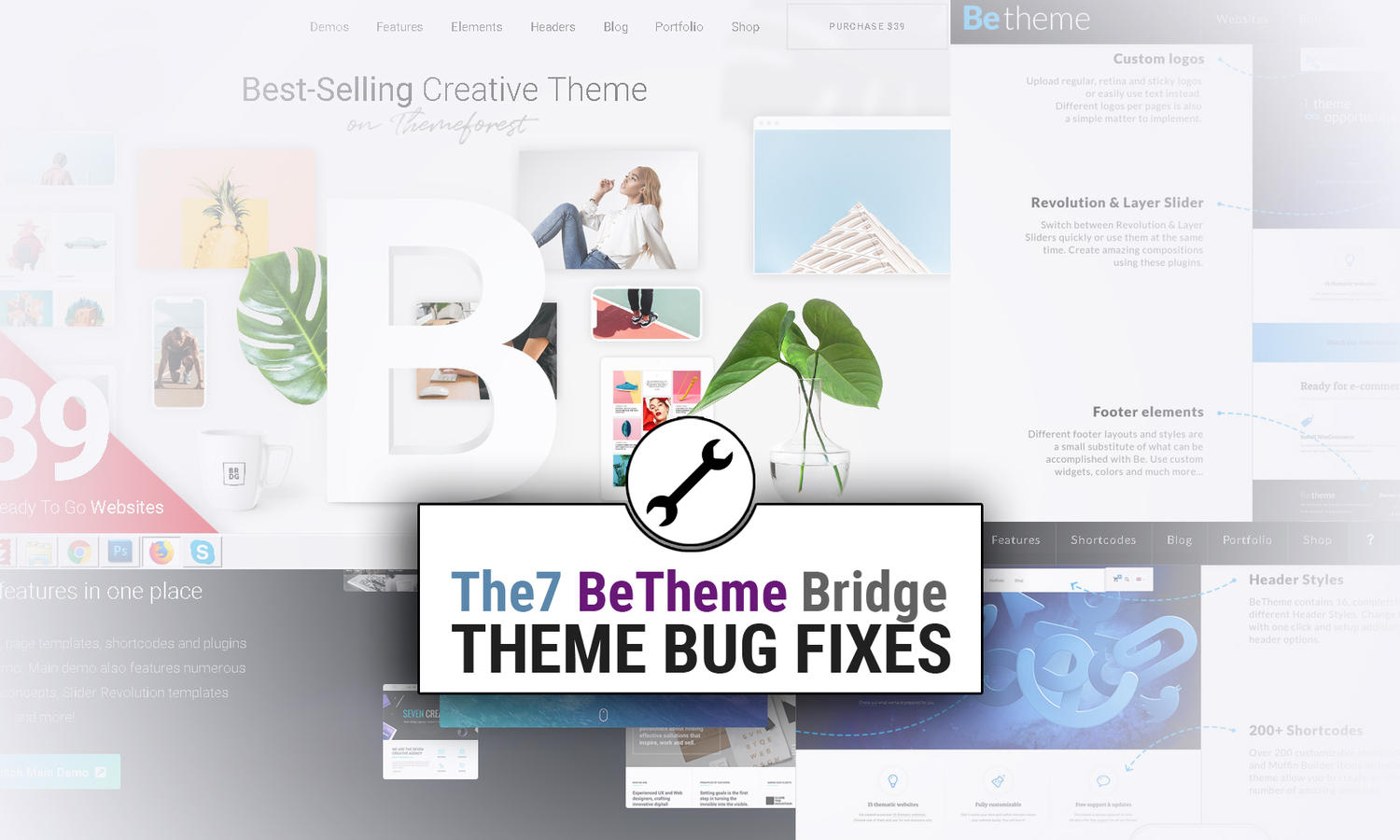 Avada, BeTheme, Bridge or another theme bug fixes by madridnyc - 110953