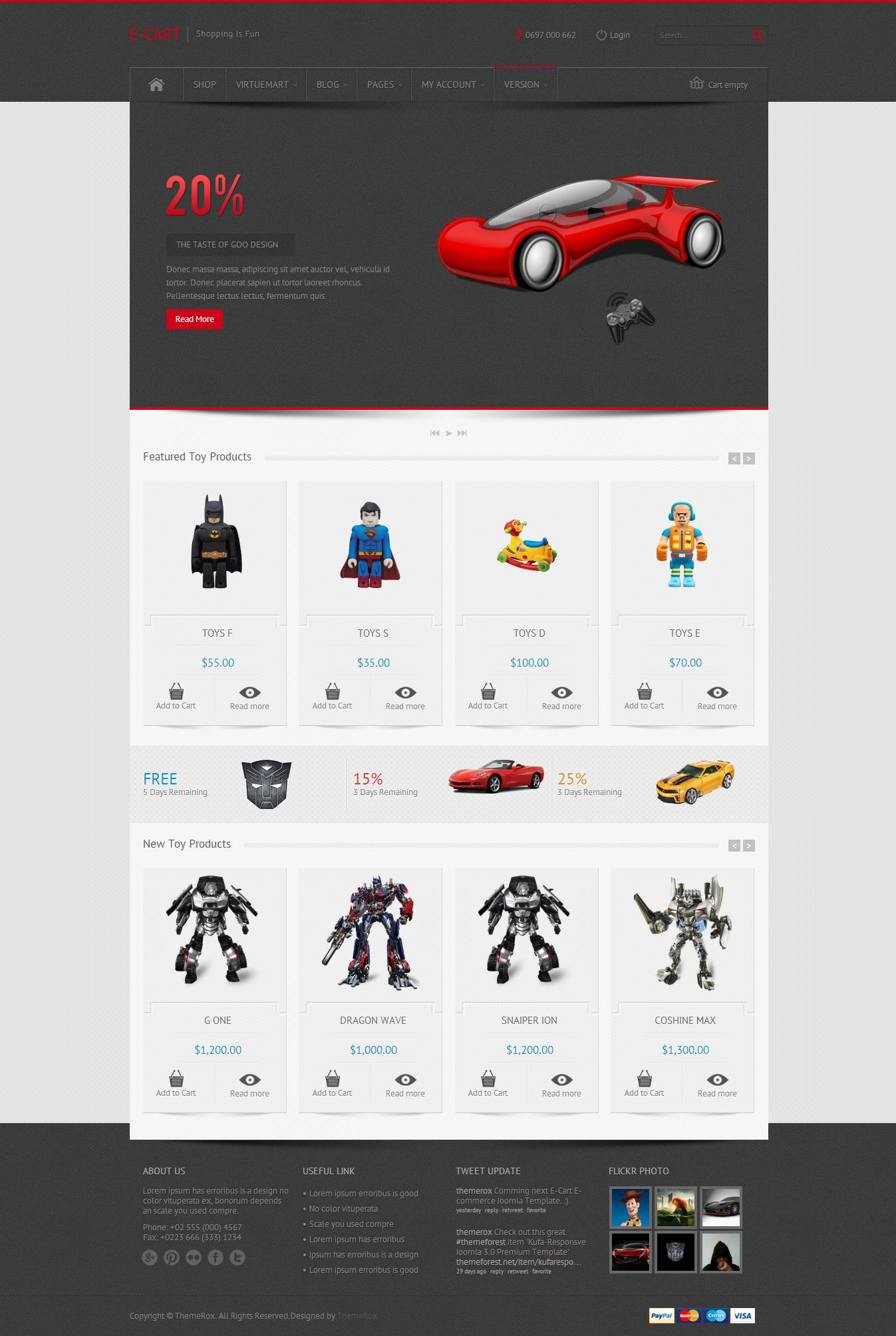 Ecommerce Website/Apps/Theme Development with Payment Getway Implementatioin by ThemeRox - 51763