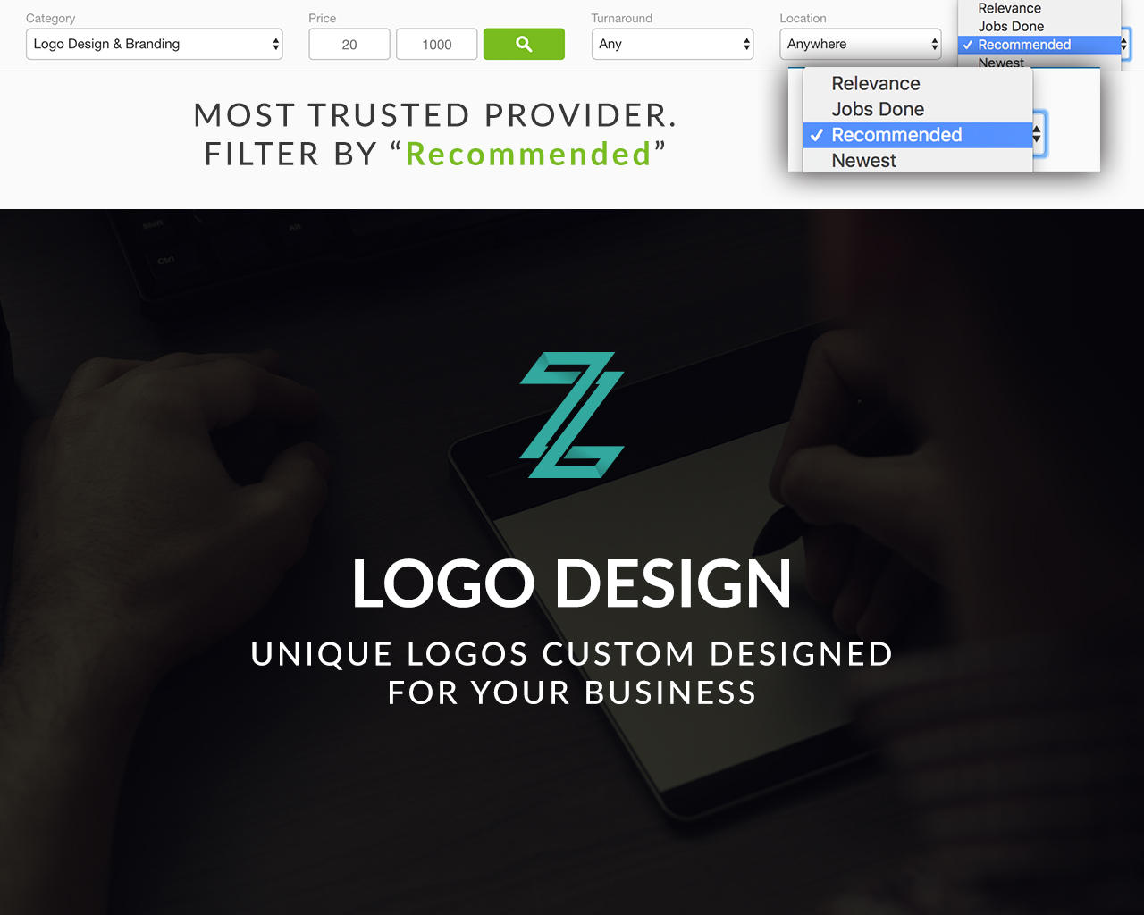 Professional Express Logo Design by zlaws - 109281